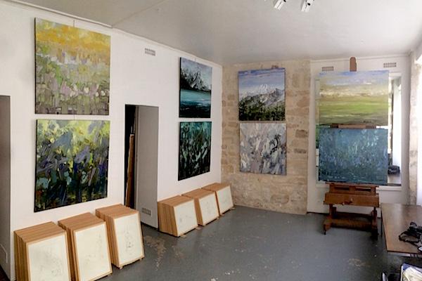 François-Edouard Finet Atelier Art gallery 2016