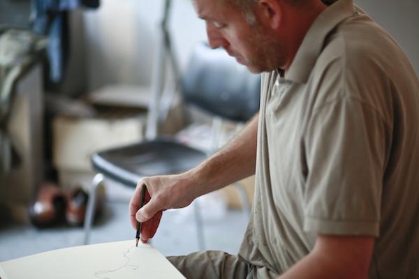 François-Edouard Finet Atelier croquis 2016