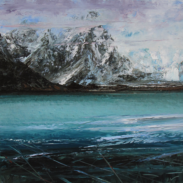 Missing Alaska 100x100cm 2016 collection privée