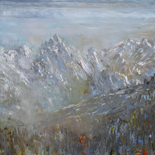 Courchevel dream 80x80cm 2014
