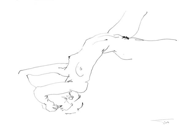 Nude eroticart GJ1 42x30cm 2012