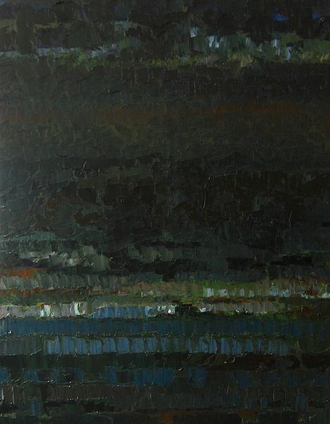 Nuit clarté 146x114cm 2007