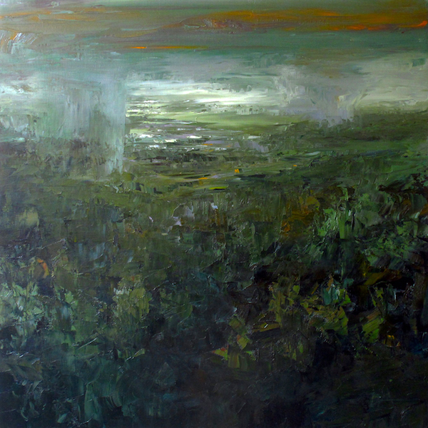 Over the forest 100x100cm 2015