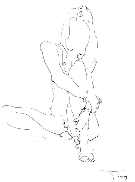 croquis de nus nude drawing nude sketch eroticart