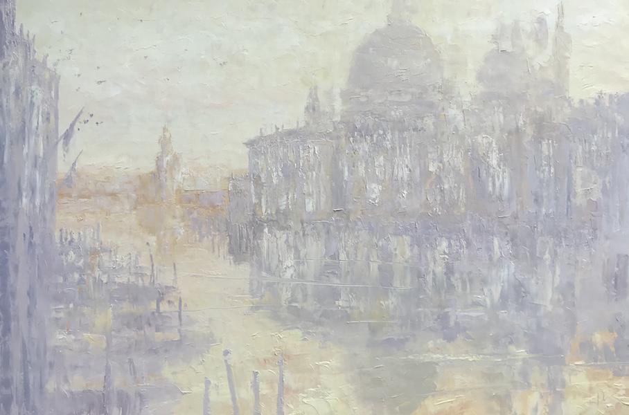 Venise clarté 195x130cm Huile sur toile 2021
